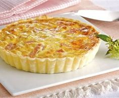 Quiche de queso Quiches, Kitchen Recipes, My Recipes, Cooking Recipes, My Favorite Food, Favorite Recipes, Bacon Ranch Pasta Salad, Cheese Quiche, Salty Foods