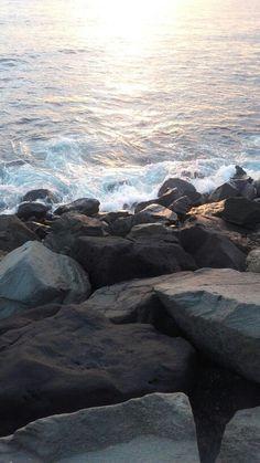 Las Palmas de Gran Canaria, , My Style - My Favorite, Strand Wallpaper, Her Wallpaper, Ocean Wallpaper, Tumblr Wallpaper, Wallpaper Backgrounds, Iphone Wallpaper, Applis Photo, Ocean Waves, Pretty Pictures