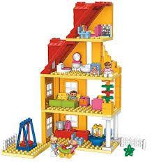 Výsledek obrázku pro lego duplo domek