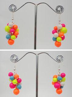 My Beaded Treasures: New Neon Jewellery