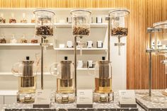Uun clininc by Studio xsxl Wood Cafe, Tea Display, Tea Lounge, Royal Tea, Boutique Interior Design, Clinic Design, Coffee Design, Retail Design, Store Design