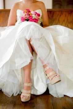 Tan Wedding Shoes