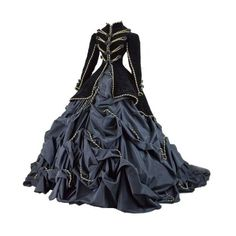 Tumblr ❤ liked on Polyvore featuring dresses, gowns, victorian and costumes