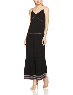 Hilfiger Denim Women's Thdw Strappy Maxi S/L 29 Dress
