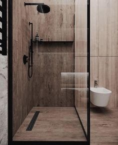 minimal interiors 'Minimal Interior Design Inspiration' is a w Interior Design Examples, Wood Interior Design, Bathroom Interior Design, Interior Design Inspiration, Kitchen Interior, Small Home Interior Design, Exterior Design, Design Ideas, Bad Inspiration