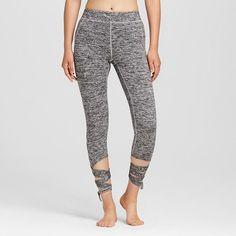 Women's Ballet Wrap Legging Heather Gray L - Mossimo Supply Co.™ (Juniors') : Target