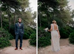 boda castell de tamarit, novia imma clé, novio dolce gabanna