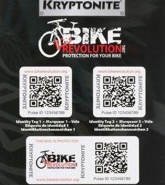 Bike_Revolution Ein Service um Fahrräder zu schützen, bzw. gestohlene wieder zu finden.