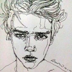 모자란 낙서들 좋아해주셔서 감사합니다 새해복 많이 받으세요!! 2014 January, after this drawing I got too much great support & love. THANK YOU SO MUCH and HAPPY NEW YEAR!! #Drawing #doodling #artist #art