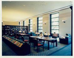 Fondren Library Reading Room, 1985