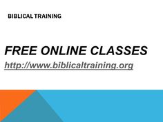 Vision BiblicalTraining.org is a Christian, non-profit ministry that has a passion to equip people to become biblically trained and fully devoted disciples of Jesus. http://www.biblicaltraining.org/