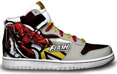 If you're gonna have anyone on your running shoes, it should be The Flash