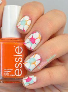 La paillette frondeuse #nail #nails #nailart