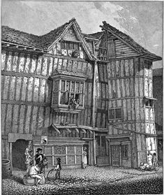 Architecture of London before the great fire