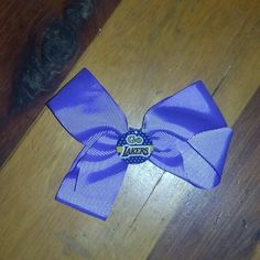 Hairbow Los Angeles Lakers handmade never been worn