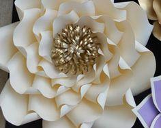 Paper flower template SVG cut file paper flower pattern DIY