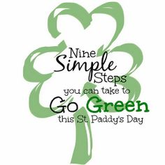 9 simple steps _ green