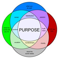 Finding out WHY? Needing a purpose.