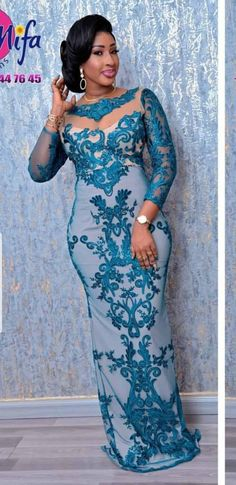 African Lace Styles, African Dresses For Kids, African Wear Dresses, Latest African Fashion Dresses, African Wedding Attire, African Attire, Nigerian Lace Dress, Lace Gown Styles, African Traditional Dresses