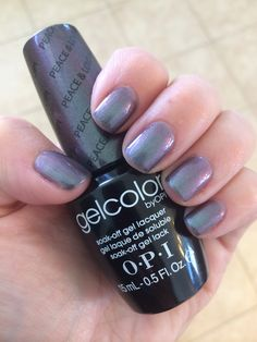 "OPI GelColor ""Peace & Love & OPI"""