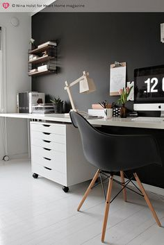 Minimalist Luxury Interior Home Office Space Design