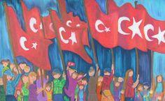 29 ekim cumhuriyet bayramı ile ilgili resimler