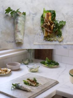 Wintery Spring rolls from Heidi Swanson