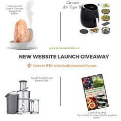 In honor of my new website launch, I have created this awesome giveaway for you! Enter the giveaway for a chance to win any of the items above Website Footer, Health Questions, Christmas Giveaways, Health Eating, Good Fats, Essential Oil Diffuser, The Cure, Product Launch, Awesome