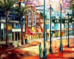 Evening on Canal Street - Artist: Diane Millsap