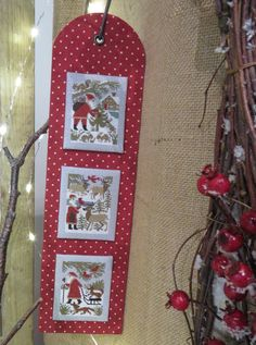 Love this layout • think the picture are from Prairie Schooler Book #110: Santa and Friends