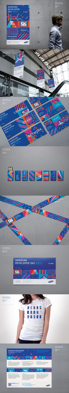 Branding / Samsung Developers Brand eXperience Design by Cooky Yoon, via Behance
