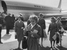 Vintage Pan Am Stewardesses
