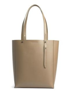 North South, Everyday Bag, Smooth Leather, Canvas Tote Bags, Luxury Branding, Rebecca Minkoff, Minimalist, Leather Totes, Hand Bags