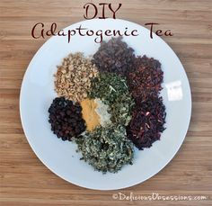 Here are 4 DIY Adaptogenic Herbal Tea Blends that you can easily make at home. Adaptogenic herbal tea is a great way to get more herbs into your diet. Herbal Tea Benefits, Herbal Teas, Blended Coffee Drinks, Homemade Tea, Hibiscus Tea, Tea Blends, Healing Herbs, Tea Recipes, High Tea