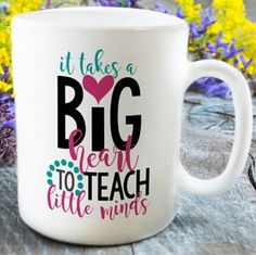 It's the time of year to honor our teachers for everything they do for our children! As a former teacher, if you had paired this mug with a Starbucks gift card and some sweets or school supplies, I would have been a happy girl!