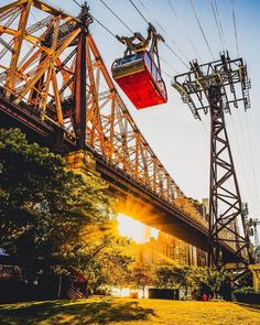 Roosevelt Island Tramway by Mike Gutkin - The Best Photos and Videos of New York City including the Statue of Liberty, Brooklyn Bridge, Central Park, Empire State Building, Chrysler Building and other popular New York places and attractions.