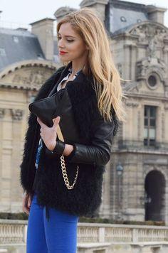 Werelse for MANGO Touch bag  (available mid-April 2012)    * Chiara Ferragni * (www.theblondesalad.com)
