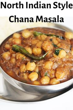 Chana Masala recipe-Chole Masala recipe-Indian food recipes Chana Masala recipe-Chole Masala recipe-Indian food recipes-North Indian chana masala gravy-how to Vegetarian Bean Recipes, Garbanzo Bean Recipes, Chickpea Recipes, Beans Recipes, North Indian Recipes, South Indian Food, Indian Food Recipes, Ethnic Recipes, Kitchens