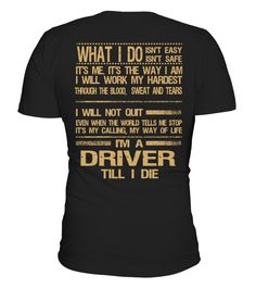 """# DRIVER .  DRIVER-- LIMITED EDITION !!!The perfect hoodie and tee for you !HOW TO ORDER:1. Select the style and color you want:T-Shirt / Hoodie / Long Sleeve2. Click """"Buy it now""""3. Select size and quantity4. Enter shipping and billing information5. Done! Simple as that!TIPS: Buy 2 or more to save on shipping cost!Guaranteed safe and secure checkout via:Paypal   VISA   MASTERCARD#driver"""