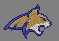 Montana State Bobcats Embroidered Patch