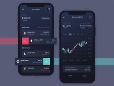 banking layout Coin Stars App Concept by Leonid Arestov Dashboard App, Dashboard Design, App Ui Design, Interface Design, Black App, Smart Home Design, Website Design Layout, App Design Inspiration, Mobile Ui Design