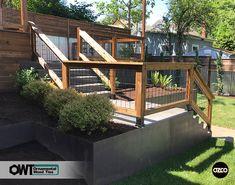 Modern Deck and Rail