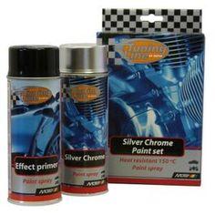 PEINTURE AUTO Kit silver chrome