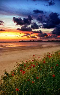 Sunset - Granville, France