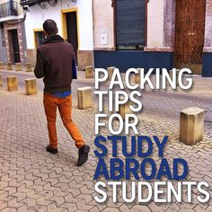 Packing Tips for Study Abroad Students