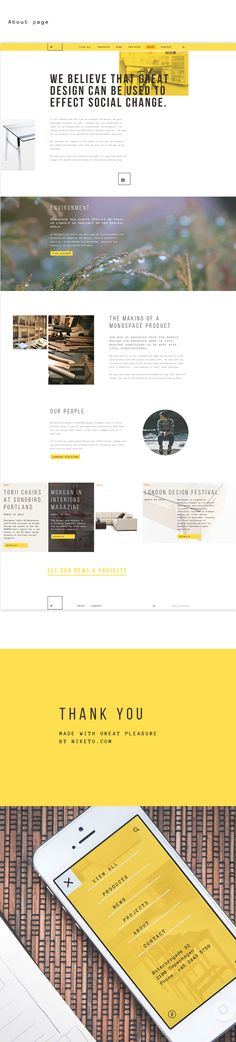 Monospace identity & website on Web Design Served