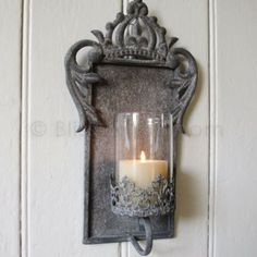 crown candle wall sconce from bliss and bloom