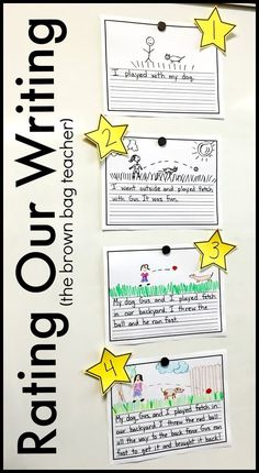 These 9 anchor charts for writing make great graphic organizers for kindergarten, first grade, and second grade. Students will love implementing them in writers workshop! You can also get great mini-lessons out of them! charts second grade Writing Strategies, Writing Lessons, Teaching Writing, Writing Rubrics, Kindergarten Writing Rubric, Writing Process, Writing Ideas, Sentence Writing, Informational Writing