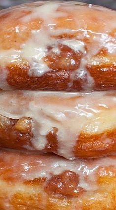 Apple Maple Spice Doughnuts