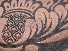 12 x 17 1/2 inch decorator fabric sample tan and by pinksewingroom, $3.85